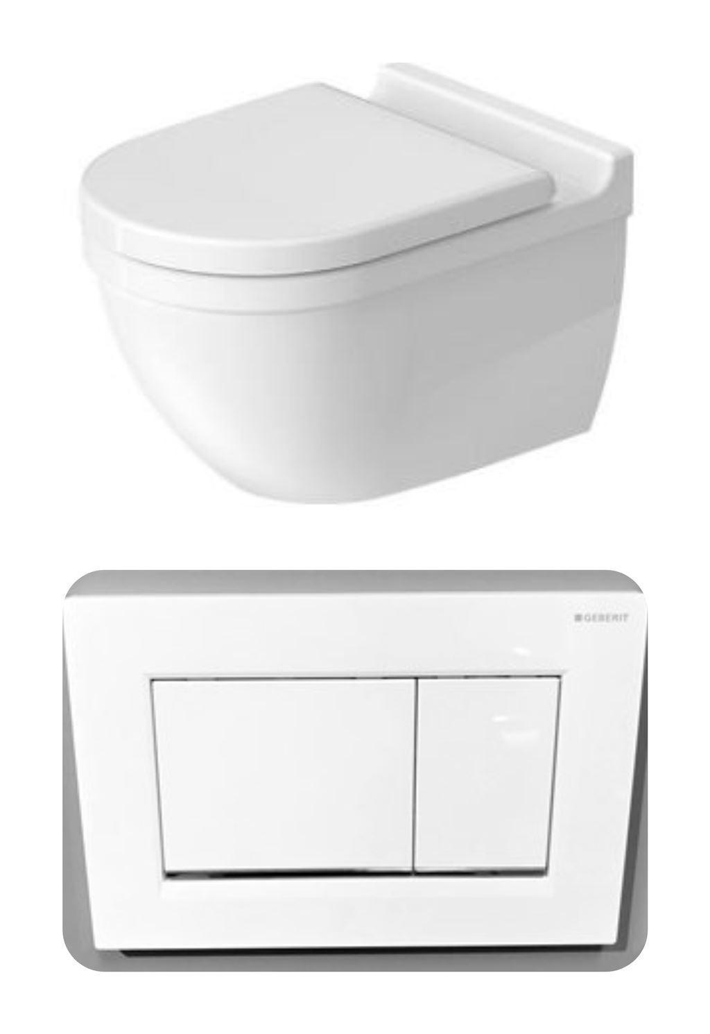 WC, Betätigunsplatte