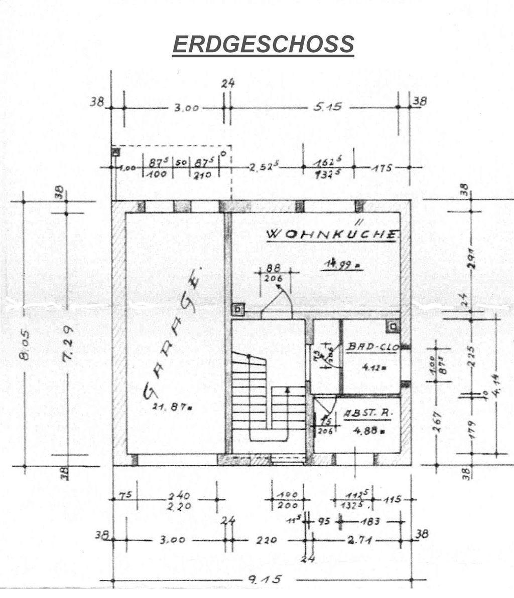 Hinterhaus Erdgeschoss