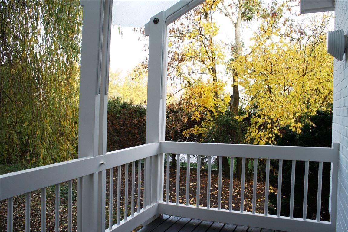 Balkon vor Bibliothek
