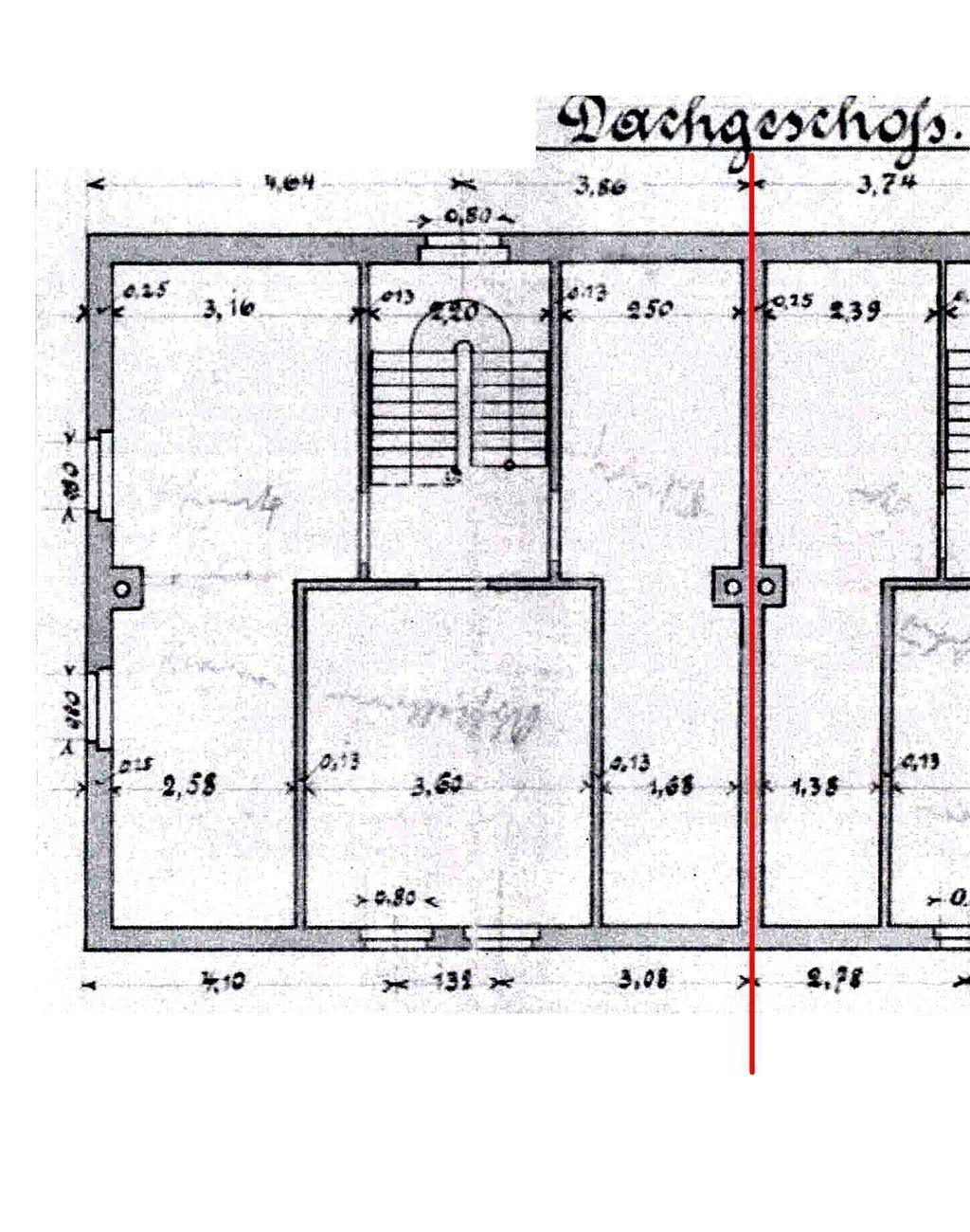 Vorderhaus Dachgeschoss
